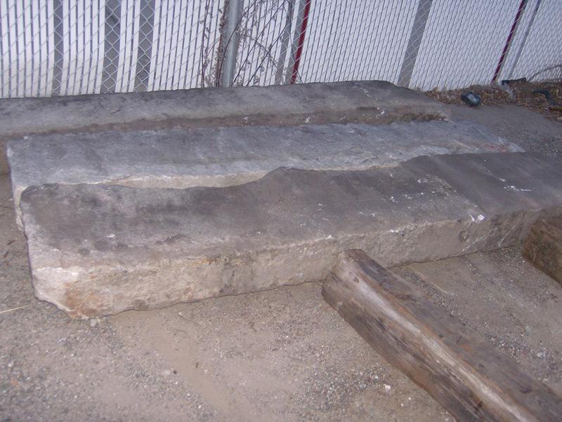 Granite Curb Pricing : Granite curbing antique vintage and new